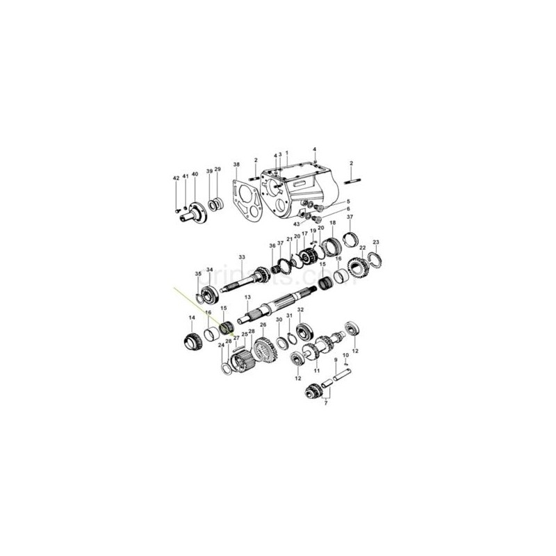 17201-30070 Toyota Hiace 2.5 D4D Turbocharger