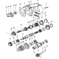 0403AAA01921N-Shock Absorber Assembly- Front 2Wd for Scorpio-mahindra parts in nepal Mahindra